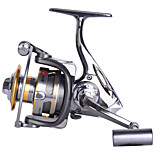 6000 Size 4.9:1 Full Metal Reel 12+1 Ball Bearings All Metal Sea Fishing Saltwater Fishing Spinning Fishing Reel