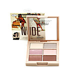 The B@lm NUDE-6 Basic Colors Eyeshadow Palette Makeup Cosmetic