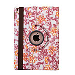 360 Degree Blue And White Porcelain PU Leather Flip Cover Case for iPad Air 2 (Assorted Colors)