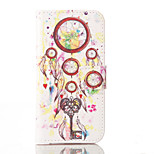 Dream Catcher PU Leather Wallet with Card Holder and Stand for Iphone 5 5s 5se 6 6S 6 Plus 6S Plus