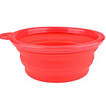 Practical Foldable Silica Pet Bowl