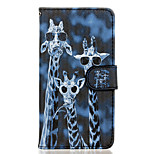 Crazy Deers Pattern PU Leather Full Body Case with Stand for Wiko Rainbow Jam 4G