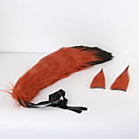 More Accessories Animal / Fairytale Movie Cosplay Orange Patchwork Headpiece / Tail Halloween / Christmas / New Year Female / Male