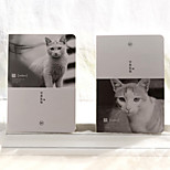 1PC Cat Notepad Animal A5 Blank Notebook(Style random)