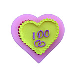 Heart I Do Style Sugar Candy Fondant Cake Molds  For The Kitchen Baking Molds