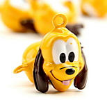 Goofy Dog Cartoon Pure Copper Pet Pendant Bell(2 PCS 2cm)