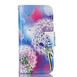 Dandelion Painted PU Phone Case for iphone5SE