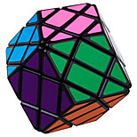 Lanlan 4 Layers Magic Cube 8-Sided Rhombic Cube Black Edge