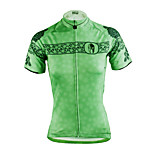ilpaladinoSport Women Short Sleeve Cycling Jersey New Style Distinctive  DX626 flowers100% Polyester