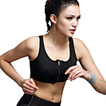 Professional Adjustable Underwear No Rims Shockproof Sports Vest Zipper Running Fitness Yoga Bra