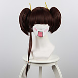Cosplay Wigs Cosplay Nameless Actress Brown Short Anime Cosplay Wigs 35 CM Heat Resistant Fiber Female
