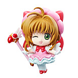 Cardcaptor Sakura Anime Action Figure 8CM Model Toy Doll Toy