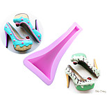 High-heeled Shoes Style Sugar Candy Fondant Cake Molds  For The Kitchen Baking Molds