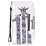 EFORCASE® Three Deer Painted Lanyard PU Phone Case for iphone6s plus/6plus/6s/6