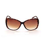 Sunglasses Women's Fashion Anti-Wear / Anti-slip Strap / 100% UVA & UVB Oversized Tortoiseshell Sunglasses Full-Rim