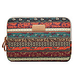 Retro Red Bohemian style Laptop Cover Sleeves Shakeproof Case for Macbook Pro 15.4