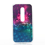 Starry Sky Pattern TPU Soft Case for Motorola Moto G3