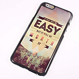 Easy World Metal Sheet PC Bottom IML With Back Case For Iphone6 Plus/6s Plus
