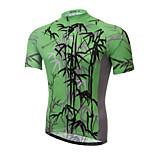 XINTOWN Mountain Bike Green Sportwear Pro Team Cycling Jerseys Short Sleeve Bicycle Jersey