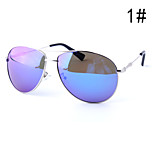 Sunglasses Men / Women / Unisex's Classic / Fashion Flyer Silver / Gold / Gray Sunglasses / Driving Full-Rim