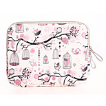 Freedom Bird Design Canvas Laptop Sleeve Bag Case  for Macbook Pro 15.4