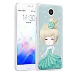 XIMALONG Dream Girl   phone shell painted reliefs apply for MEI ZU M3 NOTE