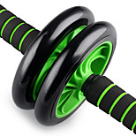 Two-Wheeled AB Round Push Home Fitness  Abdominal Wheel Wheel Mute AB Is Environmentally