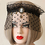 Punk Faction Cosplay Lolita Chiffon Mask