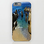 Seaview Figure Pattern PC Phone Case Hard Back Case Cover for iPhone5/5S
