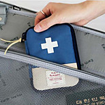 Fashion Portable Fabric Travel Medicine Box/Case/Travel Storage for Travel 15*11*6cm