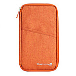 Travel Passport Holder & ID Holder / Inflated Mat Travel Storage Fabric Grey / Blue / Red / Purple / Orange