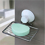 High Quality Bathroom Strong Suction Cup Wall Mounted Soap Dish Tray Holder