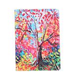 pintando el árbol alrededor de la funda para el aire del ipad 3 / ipad 7