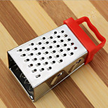Mini Grater - 4 Sided Stainless Steel - Garlic/Nutmeg/Ginger/Chocolate Random Color