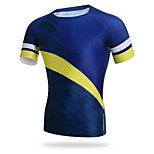 XINTOWN Cycling Men Fast Drying Short-sleeved Round Neck T-shirt