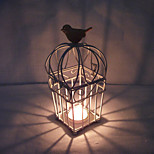 Valentine'S Day Creative Romantic Wedding Arts Crafts Gift Europe Type Contracted, Wrought Iron Candlestick