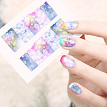 1sheets Beauty Dream Full Cover Stickers Nail Art Tips Water Transfer Decorations Nail Decals Manicure Accessory