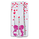 Loving couple Pattern TPU Phone Case for LG Leon /LG C40 H340N