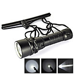 LS1778 2000 Lumens 3-Mode  CREE XM-L L2 LED Diving Flashlight Torch Waterproof Underwater LED Flashlight