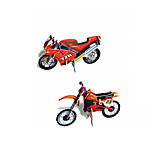 Two Motorcycles 3D Puzzles DIY Toys