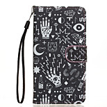 Confusion Pattern PU Leather Full Body Case with Stand for Wiko Rainbow Jam 4G