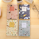 1PC Spirit Interest Natural Pvc Glue Set Notebook Creative Notebook Pocket Book(Style random)