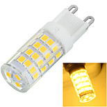 G9 6W 500lm 51-2835 SMD 3500k/6500K Warm/Cool White Light Corn Lamp Bulb(AC 220-240V)