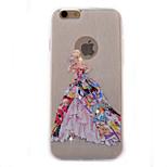 colorido casamento do diamante brilho caixa do telefone de material TPU fino para iPhone 6 Plus / 6s mais