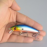 Lot 10Pcs Lifelike Minnow Fishing Lure 7CM 8.5G 6# Hooks Fish Wobbler Tackle Crankbait Artificial Hard Bait Swimbait