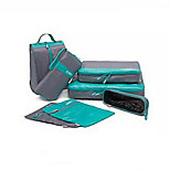 Travel Packing Organizer / Inflated Mat Waterproof Travel Storage Fabric Blue / Green / Orange
