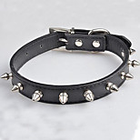 Durable Prevent the Bit Rivet Pet Collars