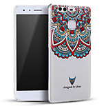 Mystical Totems Flowers Soft Protective Back Cover Ultra Thin Huawei Case for Huawei Ascend P9