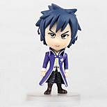 Fairy Tail Anime Action Figure 8CM Model Toy Doll Toy (4 Pcs)