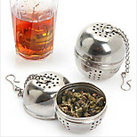 LifeJoy-Stainless-Steel-Mesh-Tea-Ball-Seasoning-Ball-Loose-Tea-Strainer-New